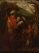 Abraham Dismissing Hagar and Ishmael MET DP143212.jpg