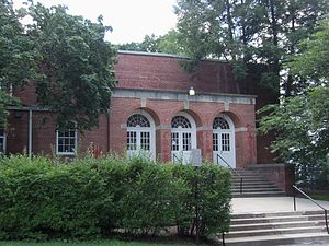 Academy of the Holy Names (Silver Spring, Maryland) - Auditorium entrance