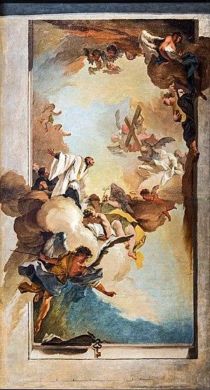 Mattia Bortoloni - Image: Accademia Gloria di san Gaetano da Thiene by Mattia Bortoloni