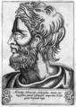 Achelaus Atheniensis - Illustrium philosophorum et sapientum effigies ab eorum numistatibus extractae.png