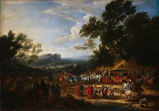 Louis XIV Travelling