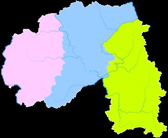 Xishuangbanna Dai Autonomous Prefecture - Image: Administrative Division Xishuangbanna