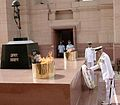 Admiral DK Joshi lays wreath at Amar Jawan Jyoti after taking over as Chief of the Naval Staff.jpg