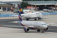 VP-BZR - A320 - Rossiya