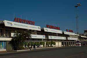 Maputo International Airport - Image: Aeroporto Internacional de Maputo (2833258604)