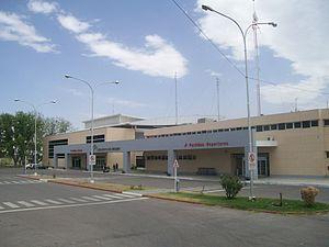 Presidente Perón International Airport - Image: Aeropuerto NQN1