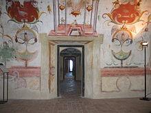 Affreschi delle sale interne del Castello di Torrechiara