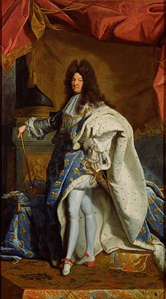 After Hyacinthe Rigaud (French - Portrait of Louis XIV - Google Art Project.jpg
