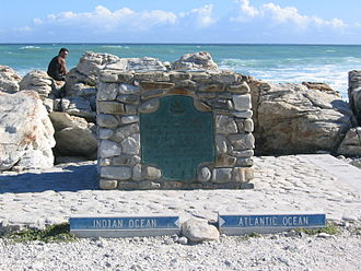 Agulhas National Park - Plaque at Cape Agulhas