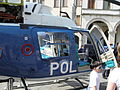 Agusta-Bell AB-206B JetRanger III, fuselage (PS-67) Polizia di Stato, Italy.JPG