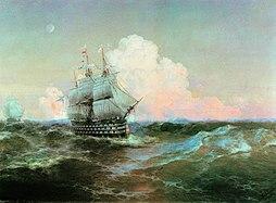 "Aivasovsky I C Ship ""Twelve Apostles"""