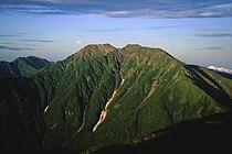 Akaishidake from senmaidake 07 1994 7 31.jpg