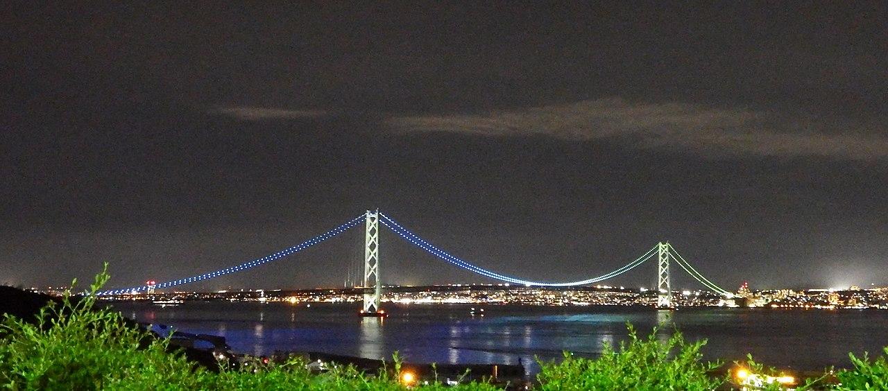 明石 海峡 大橋 飛び降り