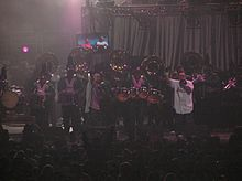 Akwid performing in California in 2004.