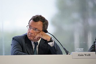 Alain Weill - Alain Weill at a MEDEF conference in 2008