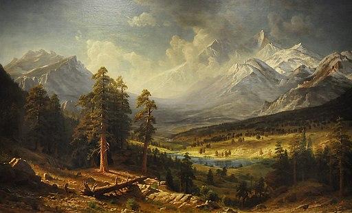 Albert Bierstadt (1830-1902) - Estes Park (1877) - Denver Art Museum 18-9-2014 12-46-50