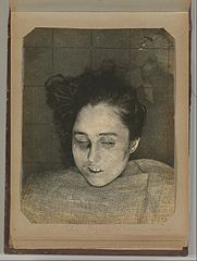 Album of Paris Crime Scenes - Attributed to Alphonse Bertillon. DP263781.jpg
