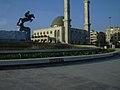 Aleppo (Halab), Moschee bei der Stadteinfahrt (26930928349).jpg