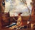 Alessandro magnasco, il poeta e l'uccello, 1700-25 ca. 02.jpg