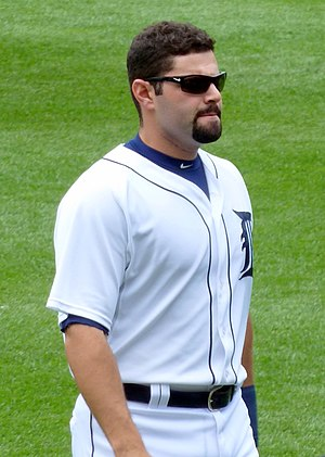 Alex Avila - Avila with the Detroit Tigers