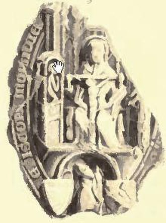 Alexander Stewart, Earl of Buchan - Seal of Alexander Bur