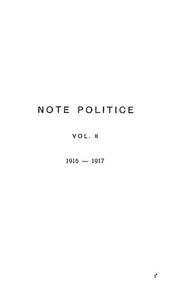 File:Alexandru Marghiloman - Note politice. Volumul 2 - 1916-1917.pdf