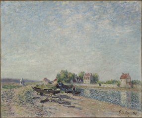 Saint-Mammès, Loing Canal