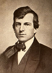 young man in 19th century suit