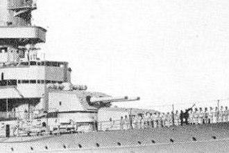 203mm/55 Modèle 1931 gun - Main guns of the Algérie