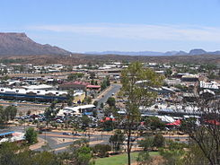 Panorama de Alice Springs
