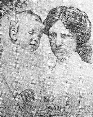 Allison family - Brave Nurse and the Babe She Saved: Alice Cleaver with Trevor Allison (1912)