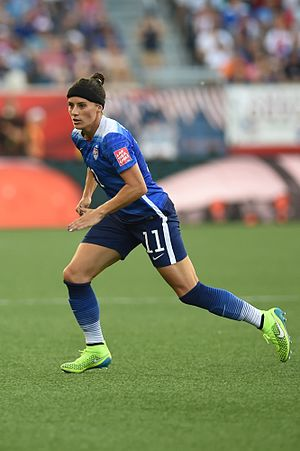 Defender (association football) - United States women's national football team defender Ali Krieger