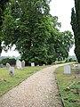 All Saints Church - churchyard - geograph.org.uk - 1348132.jpg