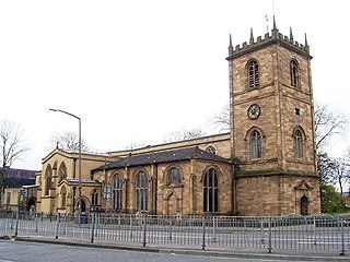 Dewsbury Minster Church in Kirklees, England