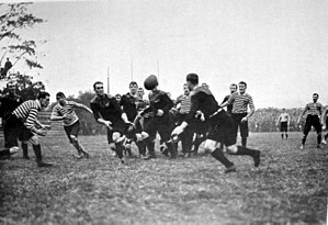 The Original All Blacks - The match vs. Somerset at Jarvis's Field.