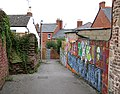 Alley leading down to Station Street - geograph.org.uk - 955533.jpg