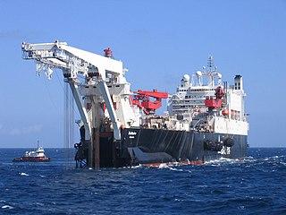 Pipe-laying ship ship type