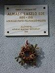 Almásy László emléktáblája - Budapest (2).JPG