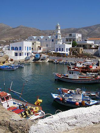 Kasos - Old Harbor of Fry