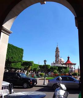City in Guanajuato, Mexico