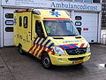 Ambulance Haaglanden unit 15-114, Mercedes at Delft, The Netherlands pic2.JPG