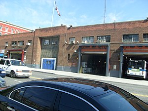 Manhattanville, Manhattan - The former Amsterdam Bus Depot