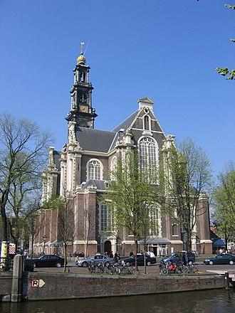 Hendrick de Keyser - Image: Amsterdam west kerk 2