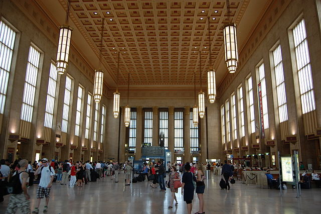 Main Concourse, 30th Street Station, Philadelphia