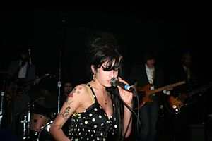Amy Winehouse at Bowery Ballroom, March 2007