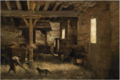 An Interior of a Barn .PNG