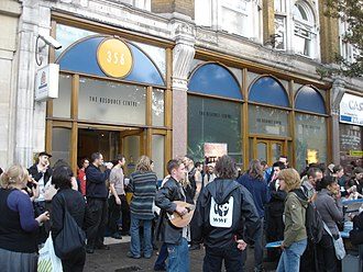 Anarchist Bookfair - Anarchist Book Fair at Holloway road, London on 21 October 2006.