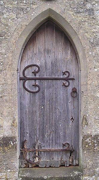 File:Ancient doorway^ Not as old as it looks^ - geograph.org.uk - 1671350.jpg