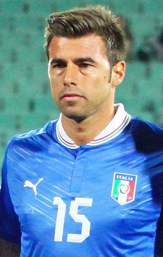 Andrea Barzagli - Barzagli playing for Italy in 2012