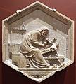 Andrea pisano, fidia ovvero la scultura, 1348-50, dal lato nord del campanile 01.JPG
